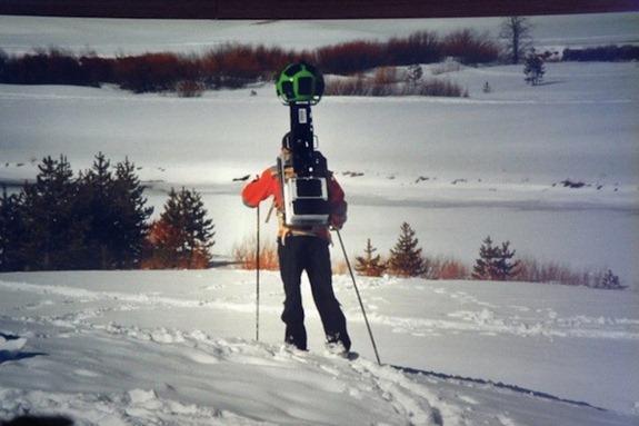 Google Street View Ski