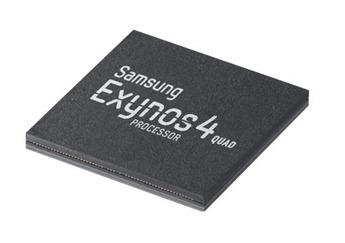Чип Samsung Exynos 4212 4 Quad с четырехъядерным центральным и графическим процессором