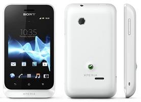 Sony Xperia tipo White