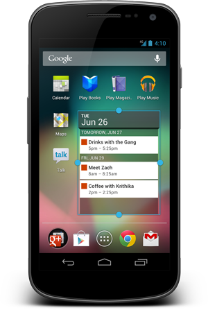 Android 4.1 For Galaxy Nexus