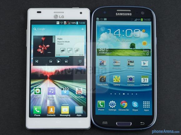 LG Optimus 4X HD vs Samsung Galaxy S III