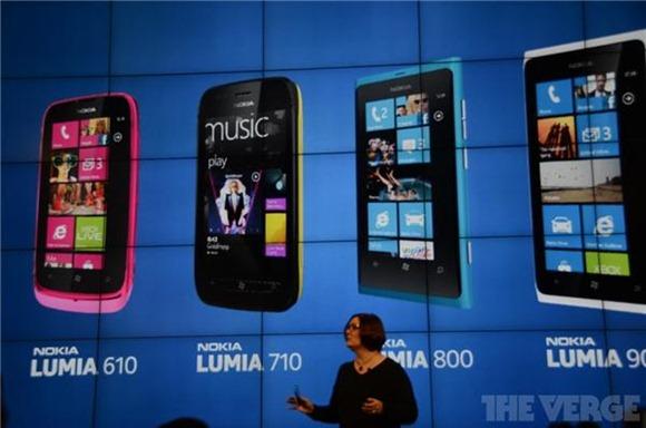 Nokia Lumia's